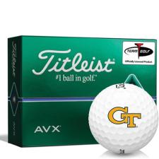 Titleist AVX Georgia Tech Golf Balls