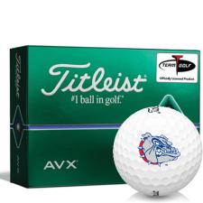 Titleist AVX Gonzaga Bulldogs Golf Balls