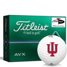 Titleist AVX Indiana Hoosiers Golf Balls