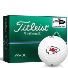 Titleist AVX Kansas City Chiefs Golf Balls