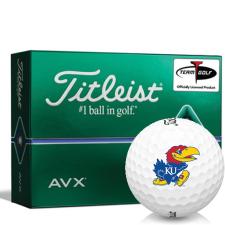Titleist AVX Kansas Jayhawks Golf Balls