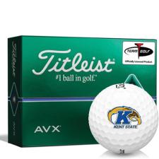 Titleist AVX Kent State Golden Flashes Golf Balls
