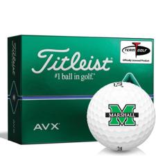 Titleist AVX Marshall Thundering Herd Golf Balls