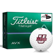 Titleist AVX UMass Minutemen Golf Balls