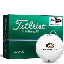 Titleist AVX Michigan Tech Huskies Golf Balls