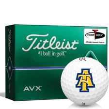 Titleist AVX North Carolina A&T Aggies Golf Balls