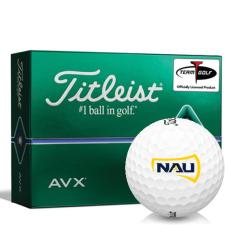 Titleist AVX Northern Arizona Lumberjacks Golf Balls