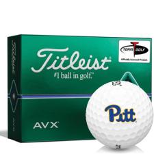 Titleist AVX Pittsburgh Panthers Golf Balls