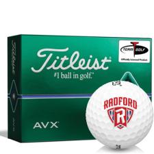 Titleist AVX Radford Highlanders Golf Balls