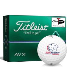 Titleist AVX South Alabama Jaguars Golf Balls