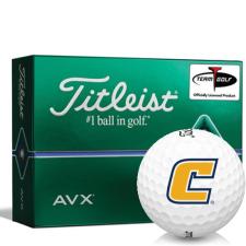 Titleist AVX Tennessee Chattanooga Mocs Golf Balls