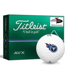 Titleist AVX Tennessee Titans Golf Balls