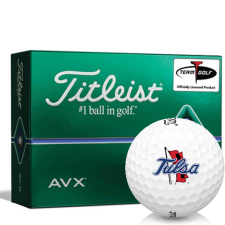 Titleist AVX Tulsa Golden Hurricane Golf Balls