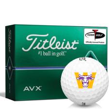 Titleist AVX Williams College Ephs Golf Balls