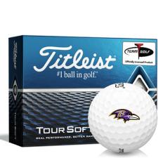 Titleist Tour Soft Baltimore Ravens Golf Balls