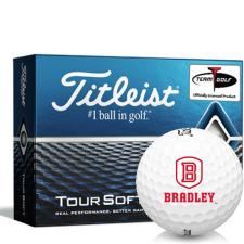 Titleist Tour Soft Bradley Braves Golf Balls
