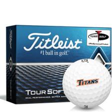 Titleist Tour Soft Cal State Fullerton Titans Golf Balls