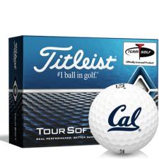Titleist Tour Soft California Golden Bears Golf Balls