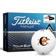 Titleist Tour Soft Campbell Fighting Camels Golf Balls
