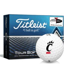 Titleist Tour Soft Cincinnati Bearcats Golf Balls