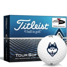 Titleist Tour Soft UConn Huskies Golf Balls