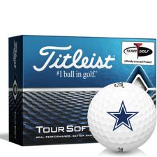 Titleist Tour Soft Dallas Cowboys Golf Balls