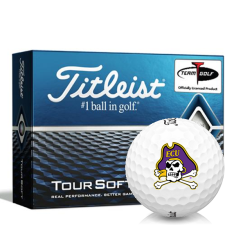 Titleist Tour Soft East Carolina Pirates Golf Balls