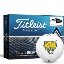 Titleist Tour Soft Fort Valley State Wildcats Golf Balls