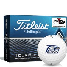 Titleist Tour Soft Georgia Southern Eagles Golf Balls