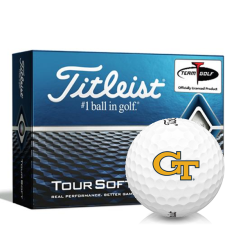 Titleist Tour Soft Georgia Tech Golf Balls