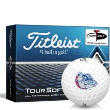 Titleist Tour Soft Gonzaga Bulldogs Golf Balls