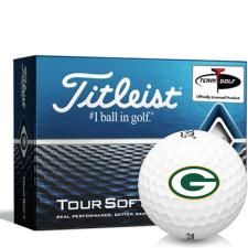 Titleist Tour Soft Green Bay Packers Golf Balls