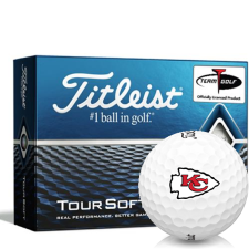 Titleist Tour Soft Kansas City Chiefs Golf Balls
