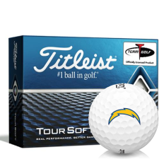 Titleist Tour Soft Los Angeles Chargers Golf Balls