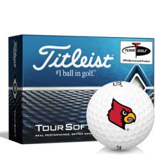 Titleist Tour Soft Louisville Cardinals Golf Balls