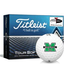Titleist Tour Soft Marshall Thundering Herd Golf Balls