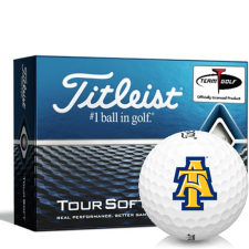 Titleist Tour Soft North Carolina A&T Aggies Golf Balls