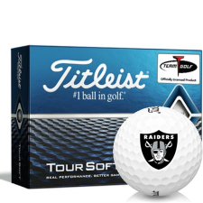 Titleist Tour Soft Oakland Raiders Golf Balls