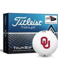 Titleist Tour Soft Oklahoma Sooners Golf Balls