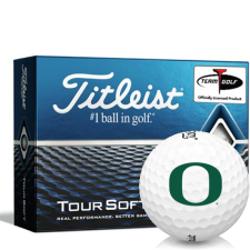 Titleist Tour Soft Oregon Ducks Golf Balls