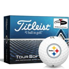 Titleist Tour Soft Pittsburgh Steelers Golf Balls