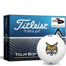 Titleist Tour Soft Quinnipiac Bobcats Golf Balls