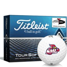 Titleist Tour Soft Saint Mary's of Minnesota Cardinals Golf Balls
