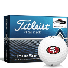 Titleist Tour Soft San Francisco 49ers Golf Balls