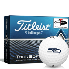 Titleist Tour Soft Seattle Seahawks Golf Balls