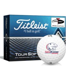 Titleist Tour Soft South Alabama Jaguars Golf Balls