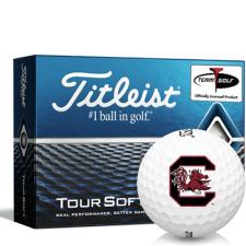 Titleist Tour Soft South Carolina Fighting Gamecocks Golf Balls