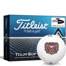 Titleist Tour Soft Southwest Missouri State Bears Golf Balls