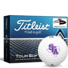 Titleist Tour Soft Stephen F. Austin Lumberjacks Golf Balls