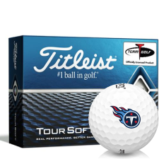 Titleist Tour Soft Tennessee Titans Golf Balls